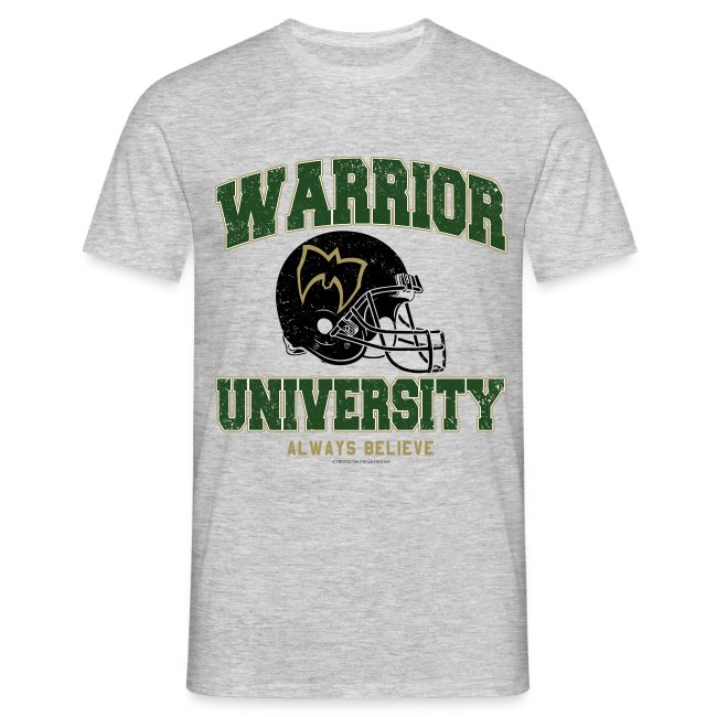 Ultimate Warrior Warrior University Shirt