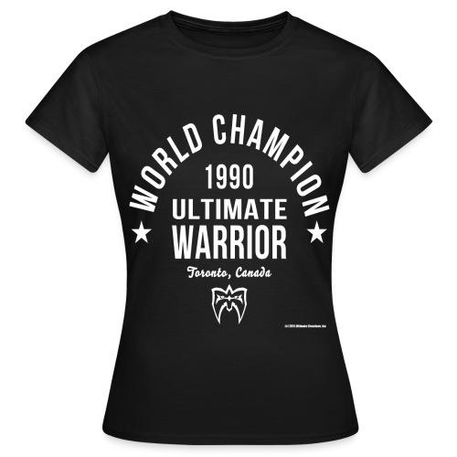 Ultimate Warrior Women's Champion Shirt - Women's T-Shirt
