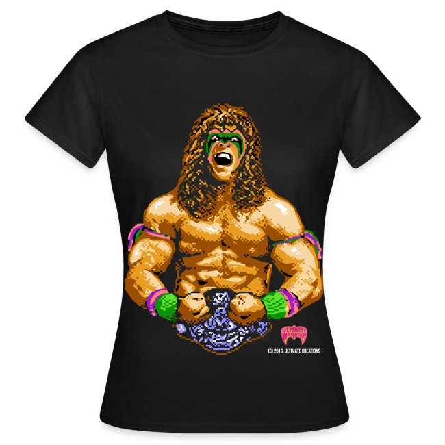 Ultimate Warrior Women's 8-Bit Shirt