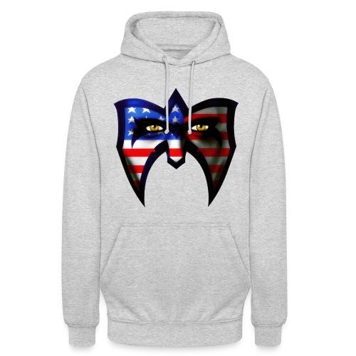 Ultimate Warrior USA Retro Hoodie - Unisex Hoodie