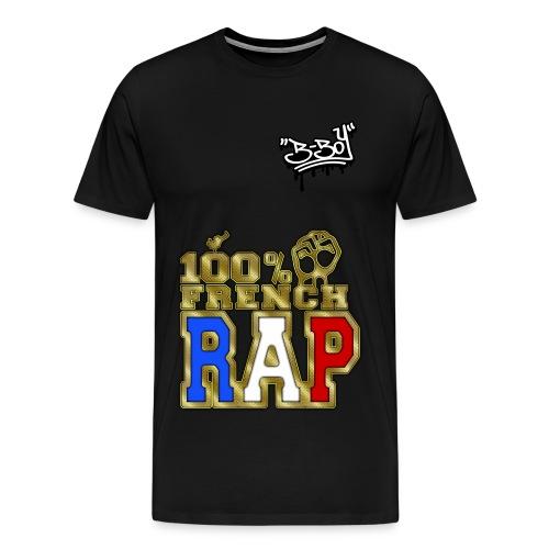 t-shirt homme noir KS - T-shirt Premium Homme