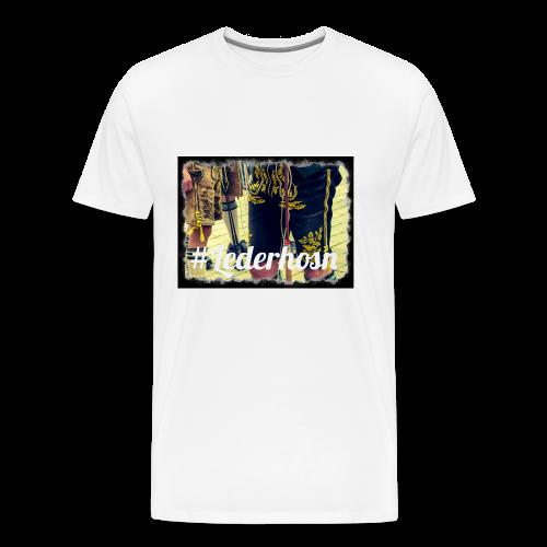 Lederhosn T-Shirt Premium Buama - Männer Premium T-Shirt