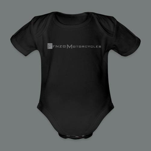FFNZO BABY BIKER - Body bébé bio manches courtes