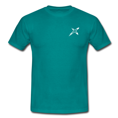 XtriME Basic Shirt BLUE - Männer T-Shirt