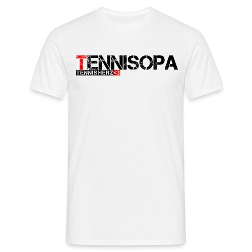 Männer T-Shirt Tennisopa - Männer T-Shirt