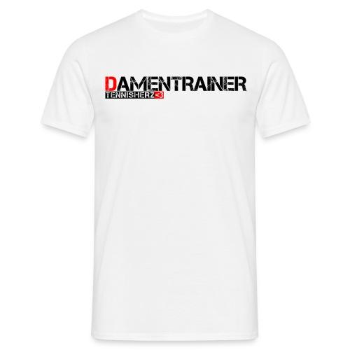 Männer T-Shirt Damentrainer - Männer T-Shirt
