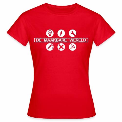 De Maakbare Wereld - Vrouwen T-shirt