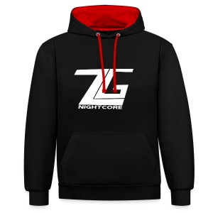 ZgNightcore Contrasr Couler Hoodie - Contrast Colour Hoodie