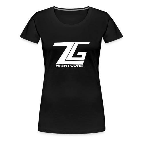 ZgNightcore T-Shirt (Woman) - Women's Premium T-Shirt