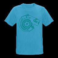 T-Shirts ~ Männer T-Shirt atmungsaktiv ~ T-Shirt atmungsaktiv Kampagne 9³ Pilot, Turbo