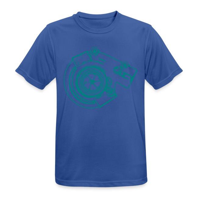 T-Shirt atmungsaktiv Kampagne 9³ Pilot, Turbo