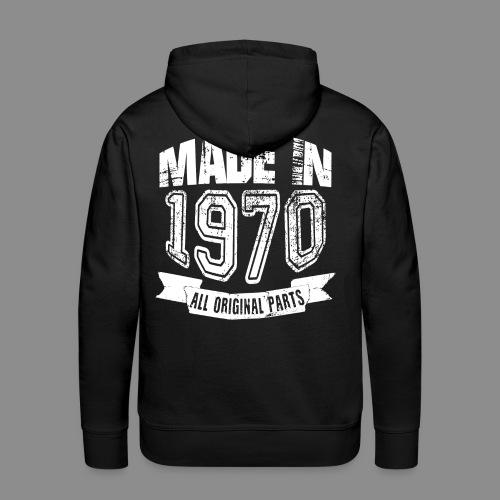 Made in 1970 - Sudadera con capucha premium para hombre