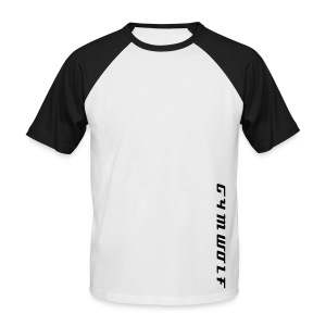 GymWolf Alpha T-Shirt - Men's Baseball T-Shirt