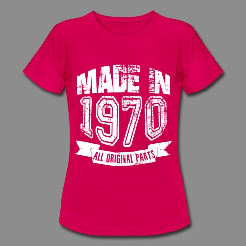 Made in 1970 - Camiseta mujer