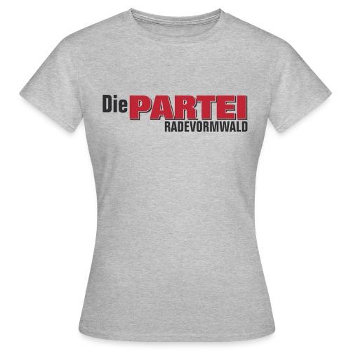 Frauen T-Shirt Rade grau - Frauen T-Shirt