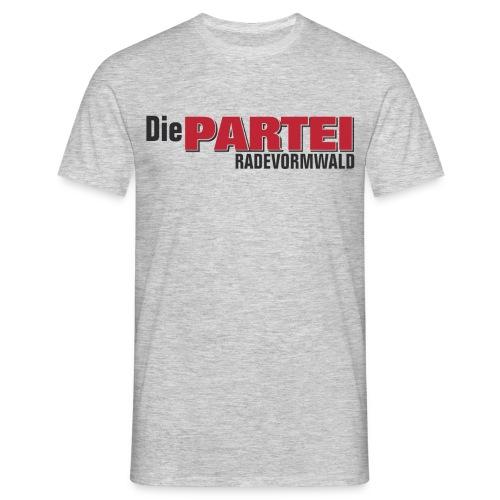Herren T-Shirt Rade grau - Männer T-Shirt