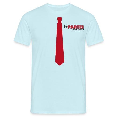 Herren T-Shirt Rade Krawatte - Männer T-Shirt