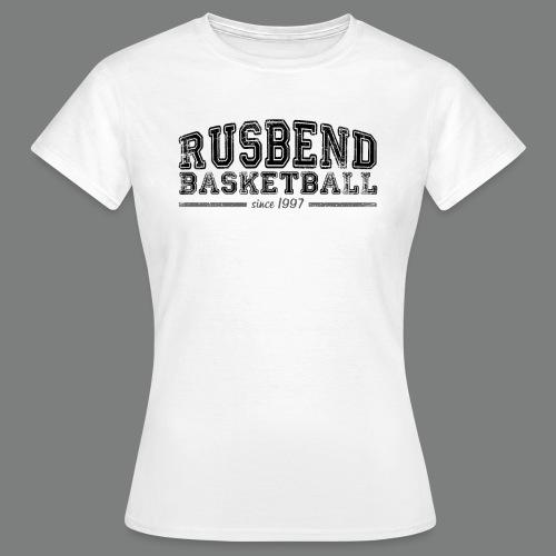 Women Rusbend Logo T Weiß - Frauen T-Shirt