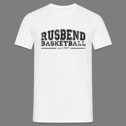 Men Rusbend Logo T Weiß - Männer T-Shirt