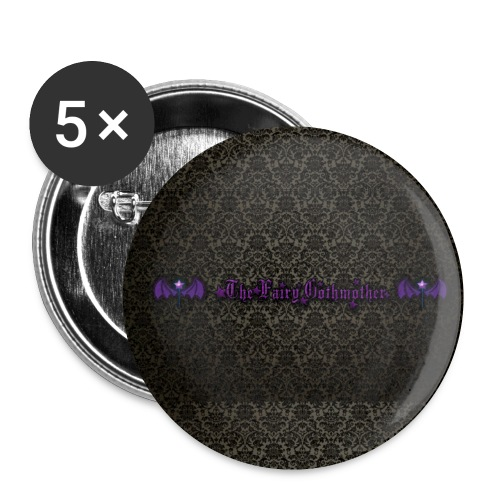 Gothmother grufti button - Buttons small 25 mm