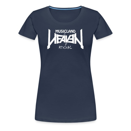 Heaven Revival Damen Shirt *Navy* - Frauen Premium T-Shirt