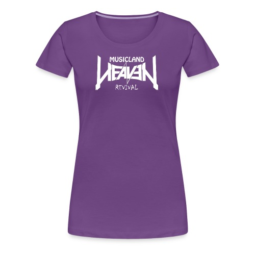 Heaven Revival Damen Shirt *lila* - Frauen Premium T-Shirt
