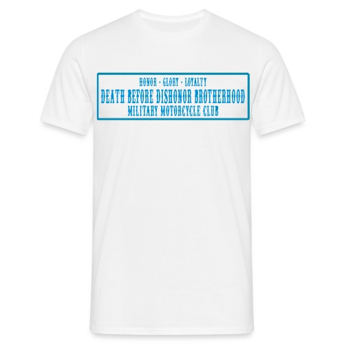 Support the Brotherhood - white - Men's T-Shirt