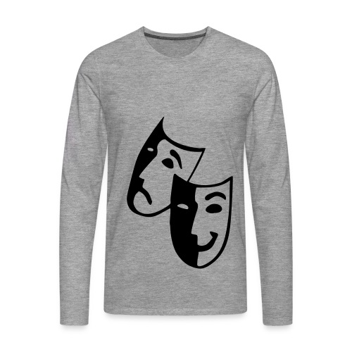 Maskenpulli - Männer Premium Langarmshirt