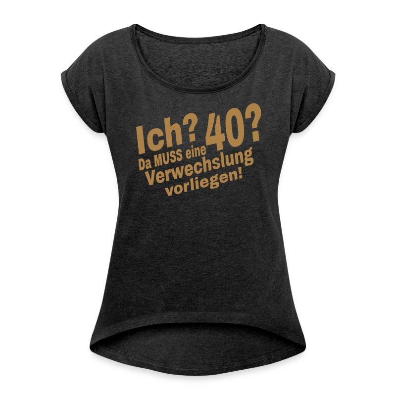T-Shirt 40. Geburtstag Frau