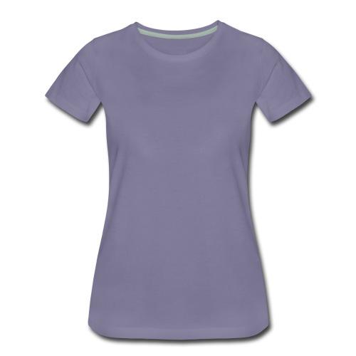 Design-Type Shirt Women - Frauen Premium T-Shirt