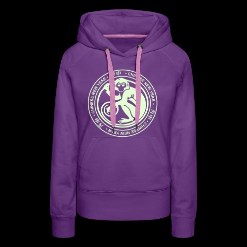 year of the monkey - Women's Premium Hoodie