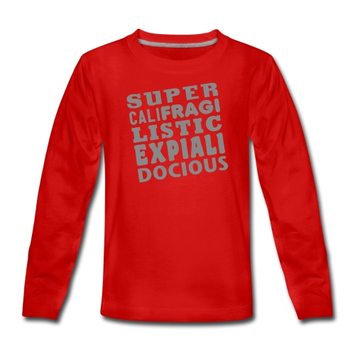 supercali_etc - Teenagers' Premium Longsleeve Shirt
