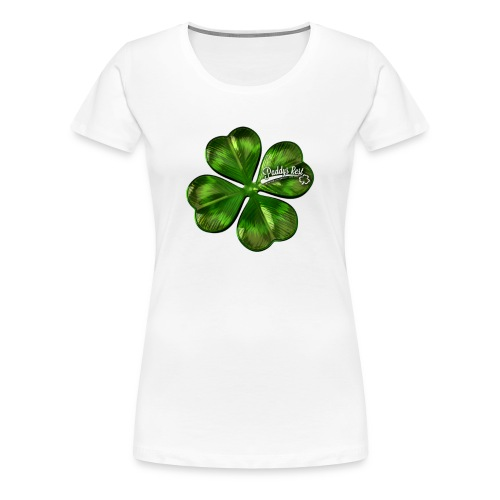 Paddy´s Rest - Shamrock - Girl - Frauen Premium T-Shirt