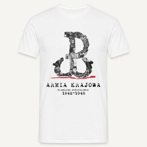 AK prawdziwi bohaterowie - Koszulka męska