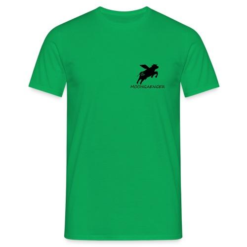 Mööhshirt schwarzes Logo - Männer T-Shirt