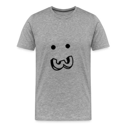 Smiley face - T-shirt Premium Homme