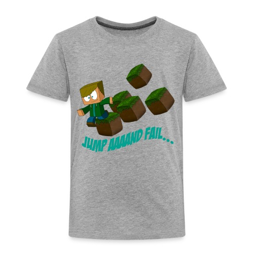 Jump and fail (Kinder Größen) - Kinder Premium T-Shirt