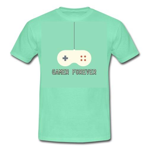 Gamer forever - Men's T-Shirt