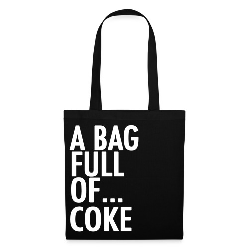 A Bag Full Of... COKE (White Font) - Tote Bag