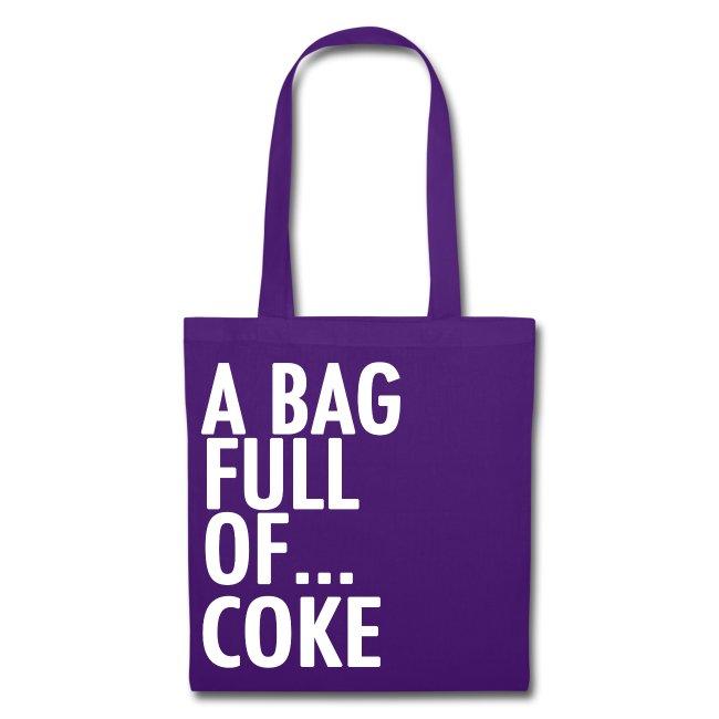 A Bag Full Of... COKE (White Font)