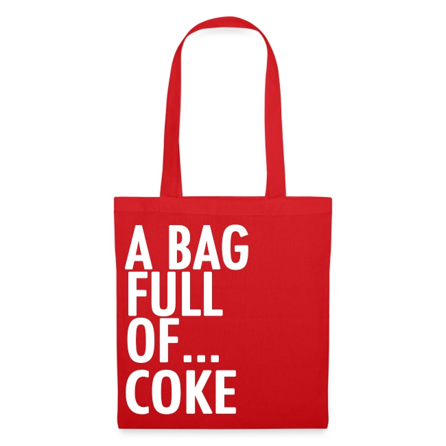 A Bag Full Of... COKE (White Font)