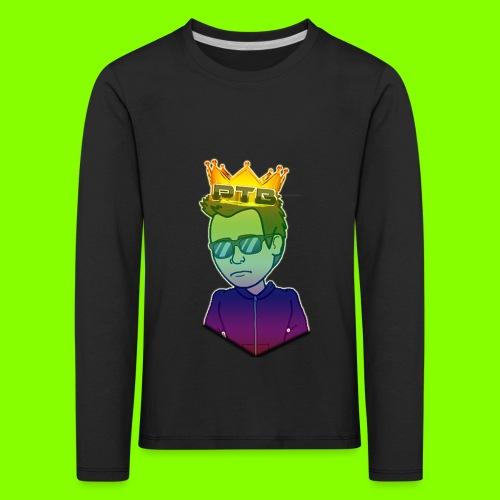 Camisa c/ Mangas Compridas - Kids' Premium Longsleeve Shirt