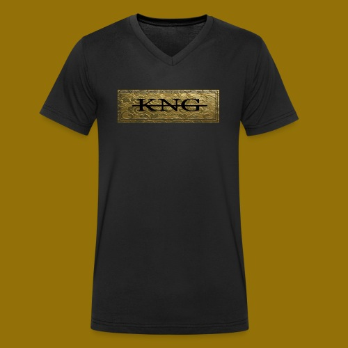 KOENYG V-Neck - Männer Bio-T-Shirt mit V-Ausschnitt von Stanley & Stella