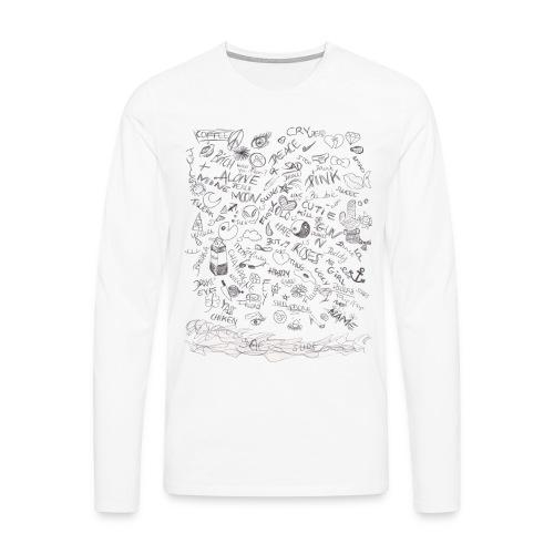 LJ's motifs - T-shirt manches longues Premium Homme