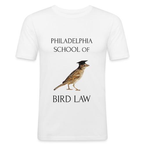 Philadelphia School of Bird Law - Men's Slim Fit T-Shirt