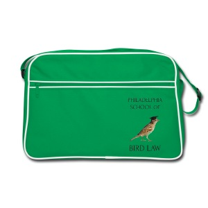 Philadelphia School of Bird Law - Retro Bag