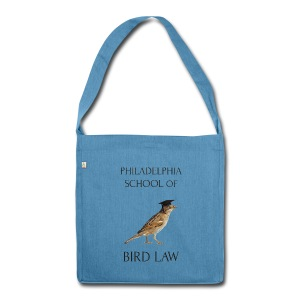 Philadelphia School of Bird Law - Shoulder Bag made from recycled material