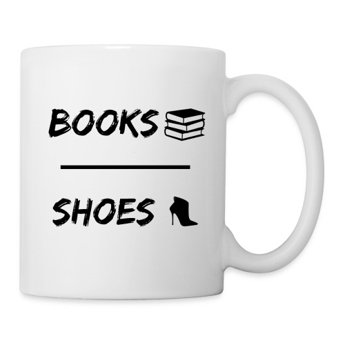 Books Over Shoes Mug - Mug