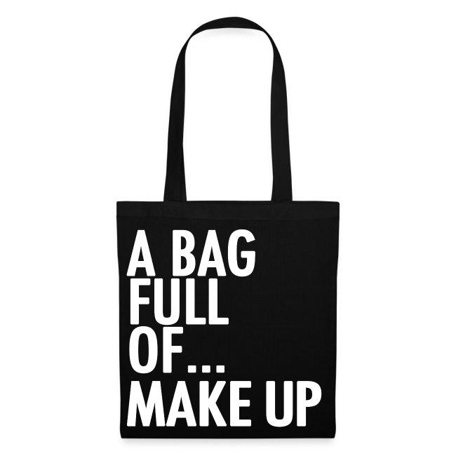 A Bag Full Of... MAKE UP (White Font)