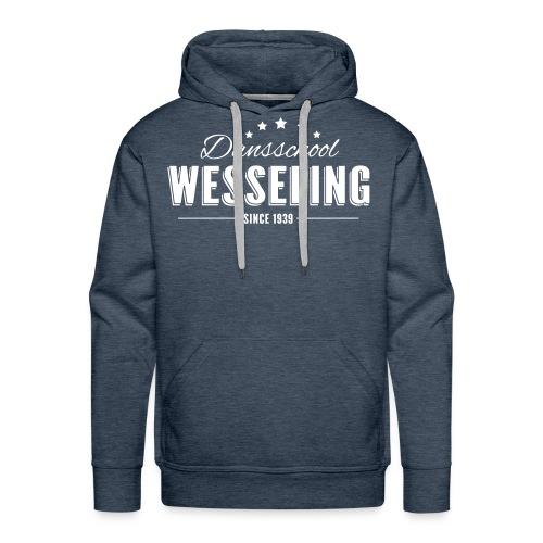 Hoodie Dansschool Wesseling - Mannen Premium hoodie